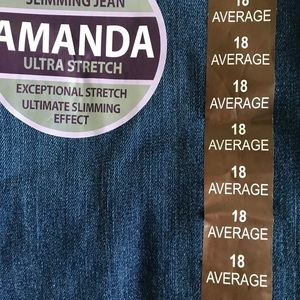 jeans size 18
